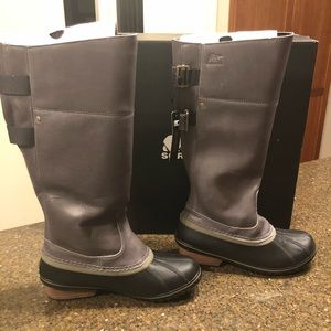 Sorel Slimpack Riding Tall II Snow Boot size 9.5